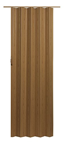 "Spectrum VS3280K Via 24"" to 36"" x 80"" Accordion Folding Door, Oak"