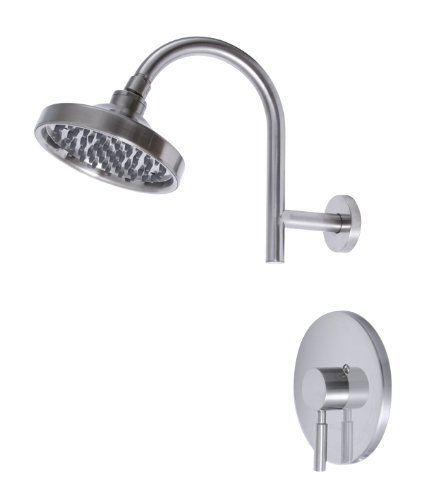 Premier 120092 Essen Single-Handle Shower Faucet, PVD Brushed Nickel by Premier ()