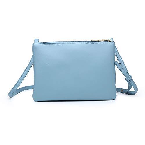 Bleu Femme Sac London Porter Craze Pour À L'épaule Clair AxgfnwU0wq