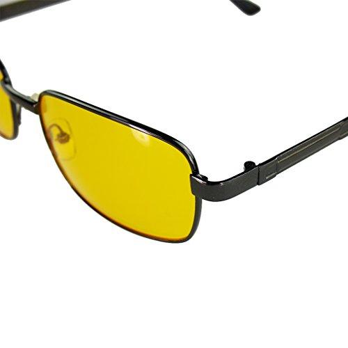 de soleil nocturne Lunettes Lunettes Meisijia Femmes UV400 Homme de conduite vision de Lunettes gwCnqI