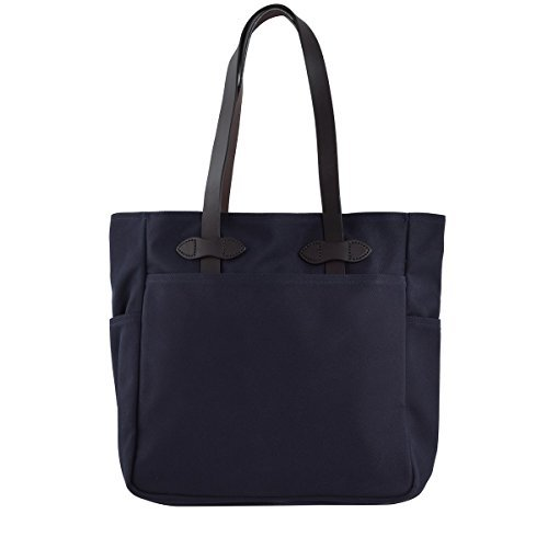 Filson Rugged Twill Tote Bag Without Zipper Navy ()