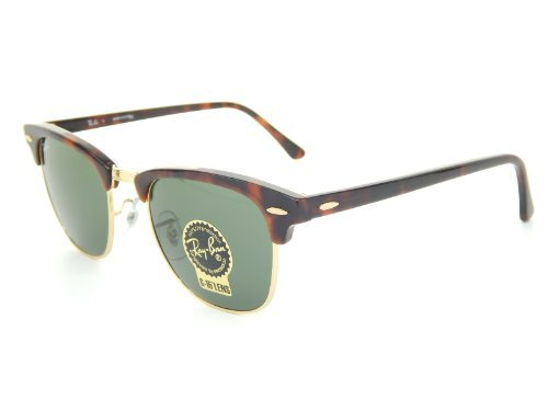 Ray-Ban RB3016 Clubmaster Sunglasses/Eyewear Tortoise Size - Ban Ray 49mm Clubmaster Rb3016 Sunglasses