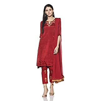 Rangriti Women's A Line Salwar Suit Set 31b0YUF HIL