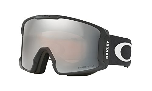 Oakley Line Miner Prizm Snow Goggles Matte Black with Prizm Black Iridium - Goggles New Snow Oakley