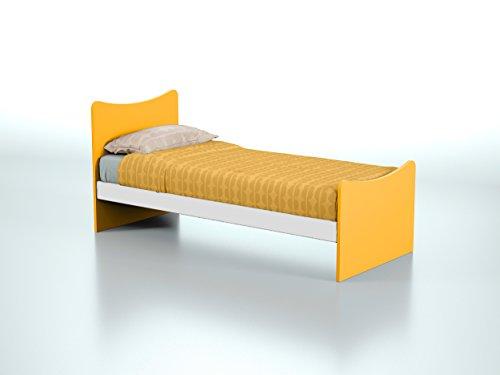 Struttura letto singolo in legno per bambini e ragazzi prodotto