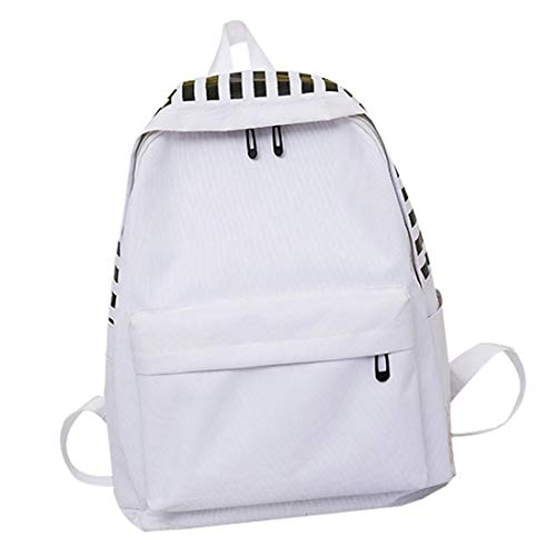 New listed TOTOD Unisex Canvas Letter Backpack Outdoor Trave