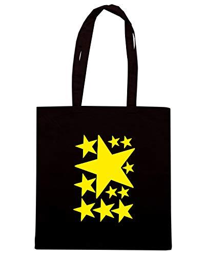 Speed Shirt Borsa Shopper Nera FUN0365 525 STARS 72454