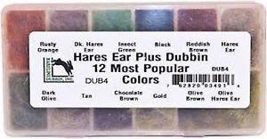 - Hareline Fly Tying Hare's Ear Plus Dub Dubbing Dispenser