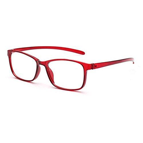 Deylaying Correction de 3 4 Mode 50 Hommes Rouge 00 1 1 00 2 50 et lecture Lunettes Femmes 2 00 Noir Confortable Rouge 50 Marron pour 3 00 x1174wrq