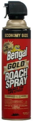 NIB 12/PACK BENGAL CHEMICAL GOLD 92464 11OZ GOLD ROACH SPRAY AUTH DEALER