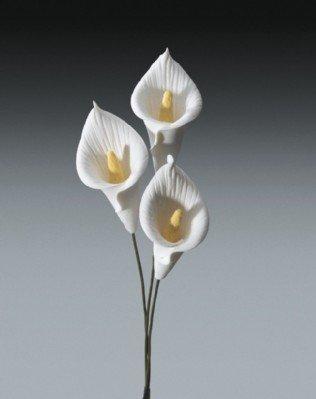 "36 ~ 1"" Small Calla Lily ~ Wedding Accessory ~ Gum Paste ~ LOOK!!!"