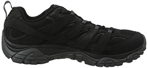 Merrell De 2 Noir black Moab Basses Homme Randonnée Black Smooth Gtx Chaussures XrXzwq