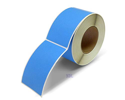 Next Day Labels, 3 X 5 Rectangle Inventory Color Coding Labels, 500 Per Roll (Fluorescent ()