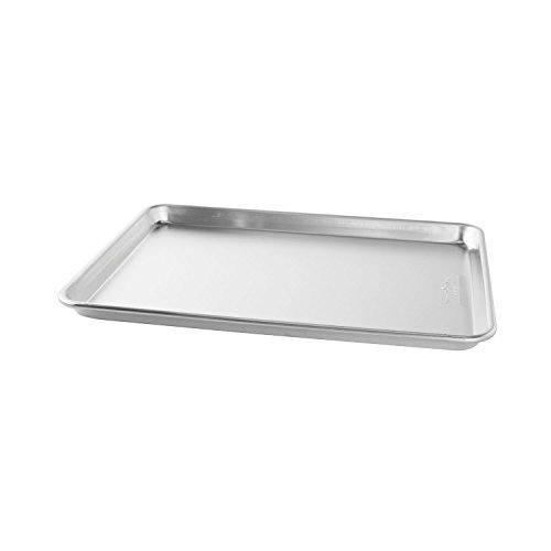"Bakers Commercial Half Baking Sheets (Pack of 2) by Nordic Ware, 16.25""L x 11.25""W 1"" H"
