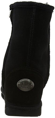 Lo Boots Ankle Platinum Black Women's Stinger Emu Black q1wSgtnT