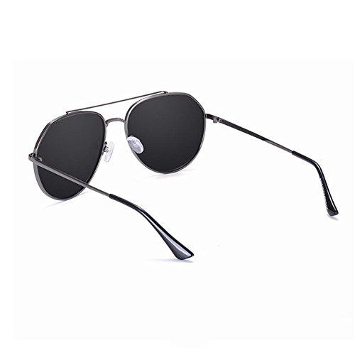 UV400 Couleur C pleine pêche protection des A de polarisées d'aviateur de conduisant lunettes soleil Hommes HONEY qfOS76