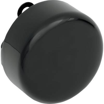 BKRider 4-5/8 Black Smooth Horn Cover For Harley-Davidson