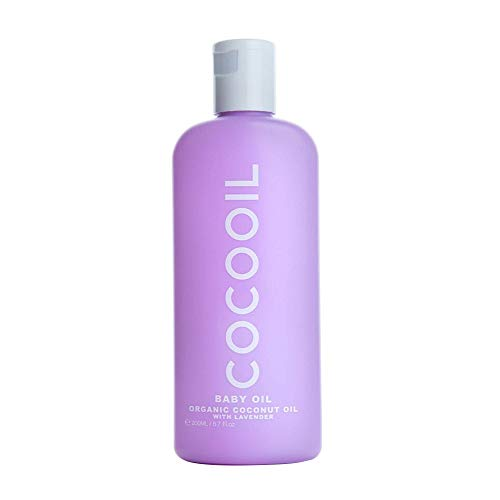 - COCOOIL Organic Baby Oil with Lavender   6.7 Fl Oz