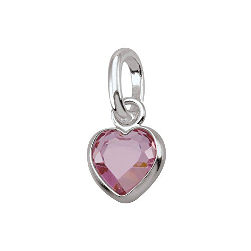 PersonaPhi Sterling Silver Charm, Birthstone Collection, October