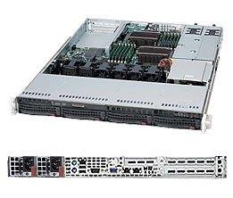 Supermicro SuperServer SYS-6016T-URF 1U Rm Blk Xeon-dp 800MHZ 4XSATA 650W Pcie 96GB Ipmi GBE2 Uio