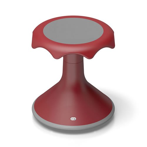 Hokki Stool - 15'' Red by Hokki