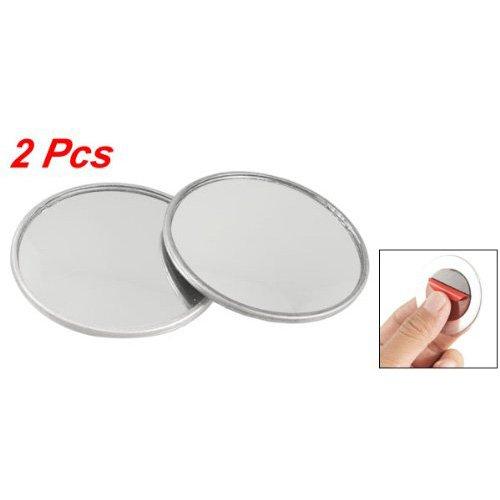 "TOOGOO(R) 2 Pcs 2"" Diameter Convex Self Adhesive Blind Spot Mirror for Car"