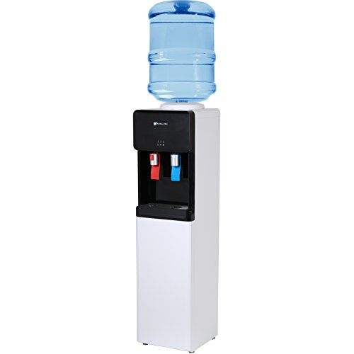 Avalon Top Loading Water Cooler Dispenser - Hot & Cold Water, Child Safety Lock, Innovative Ultra Slim Design, Holds 3 or 5 Gallon Bottles - UL/Energy Star Approved by Avalon (Image #1)