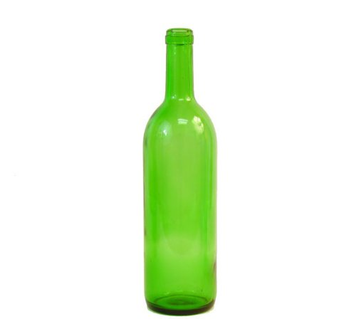 green wine bottles 750 ml capacity pack of 12