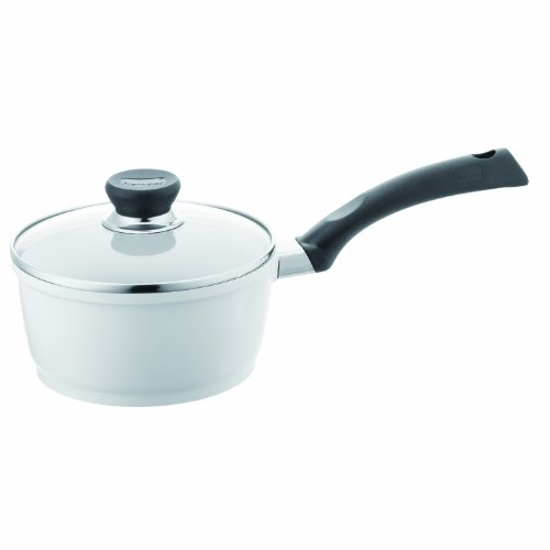 Berndes 697603 SignoCast Pearl Ceramic Coated Cast Aluminum 2-Quart Covered Saucepan