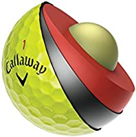 Calaway Chrome Soft Bolas de Golf, Amarillo, Talla Única ...