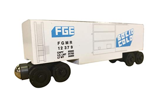 - Whittle Shortline Railroad - Manufacturer FGE Refrigerator Train Car
