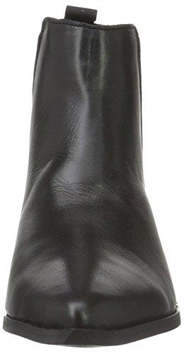 96 Silver Donna Replay black Chelsea Wallsend Nero Stivali TRq0z