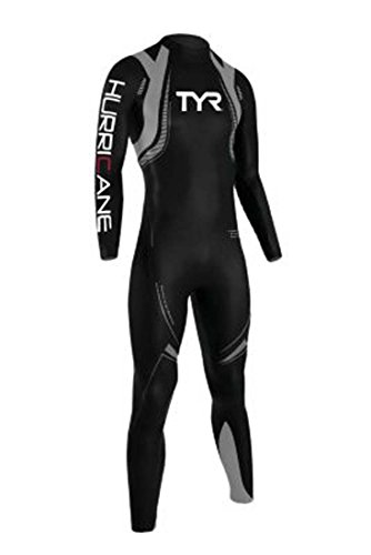 TYR Sport Men's Category 3 Hurricane Wetsuit - Wet Triathalon Suits