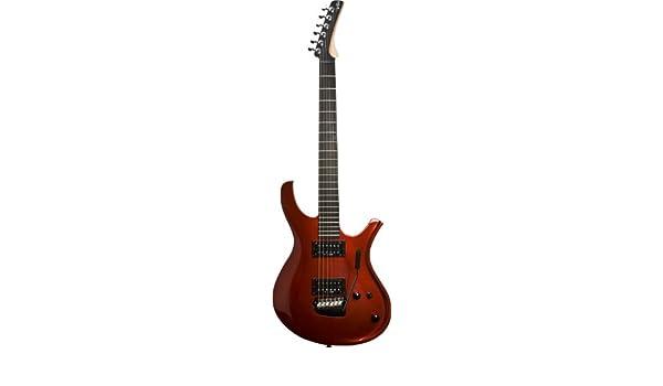 Parker pdf70 Maxx Fly P Series Guitarra eléctrica - color rojo ...