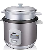 POWERPAC 1.5L Rice Cooker with Steamer