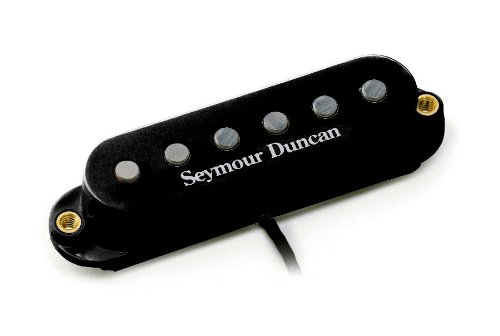 Seymour Duncan STK-S4M Classic Stack Plus Pickup - Middle Black (Middle Pickup)