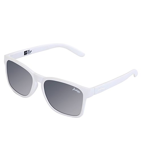 THE INDIAN FACE 24-008-06, Gafas de Sol Unisex, White, 55 ...