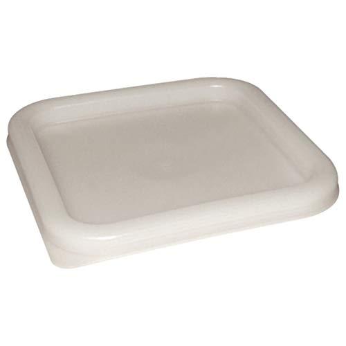 Nextday Catering cf050coperchio per contenitori quadrati, 5,5L-7L, colore: bianco