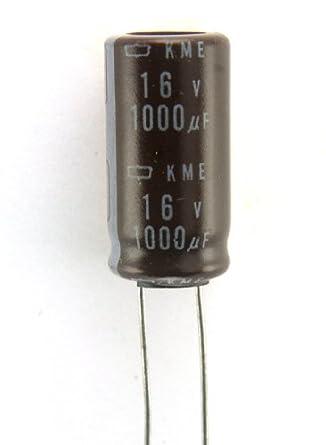 Co 47 6pcs Nippon Chemi Con Kme 1000uf 16v 105c Ectrolytic Cradial