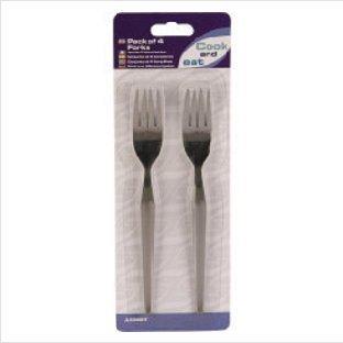 Cook /& Eat Dessert Forks Pack of 4