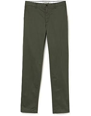 Lacoste Men's Men's Khaki Chino Pants in Size W38 (48 EU) Green