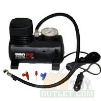 280 psi 12v Mini Air Compressor Bike Pump by EZ Travel Collection