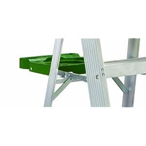 Louisville Ladder AS4004 225-Pound Duty Rating Aluminum Stepladder, 4-Foot