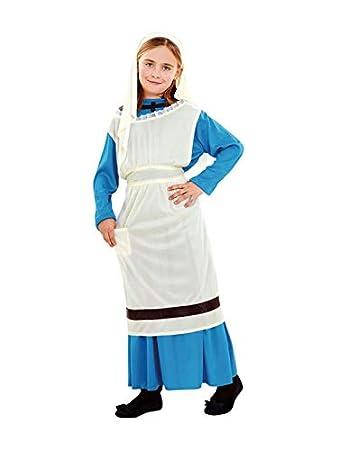 DISBACANAL Disfraz de lavandera para niña - -, 10-12 años: Amazon ...