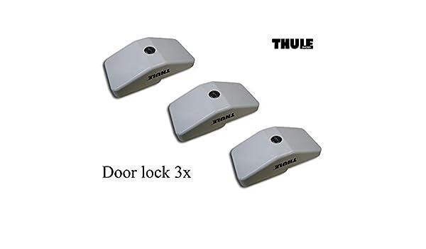 Desconocido Thule Kit 3 cerraduras de Seguridad autocaravanas y ...