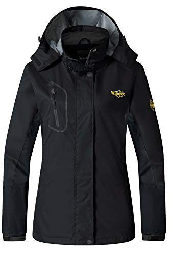 (Wantdo Women's Windproof Breathable Jacket Athletes & Outdoor Sportswear,Medium,Black )