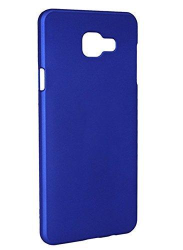 timeless design d8d12 77efb Samsung C7 Pro Back Cover - Johra Rubberised Matte Hard Back Dark Blue Back  Case for Samsung Galaxy C7 Pro Back Cover