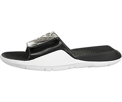 4461a900c08d NIKE Jordan Hydro 7 Mens Sandals Black Metallic Gold-White for sale  Delivered anywhere