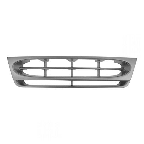 Silver Metallic Front End Grille Grill for 97-02 E150 E250 E350 Econoline Van
