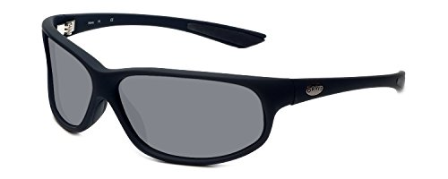 Orvis Midway Polarized Sunglasses in Matte-Black & Grey Lens by Orvis